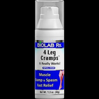 4 Leg Cramps Cream